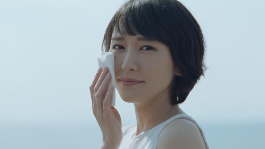 日本製紙クレシア クリネックス「ふれるたび篇」新垣結衣