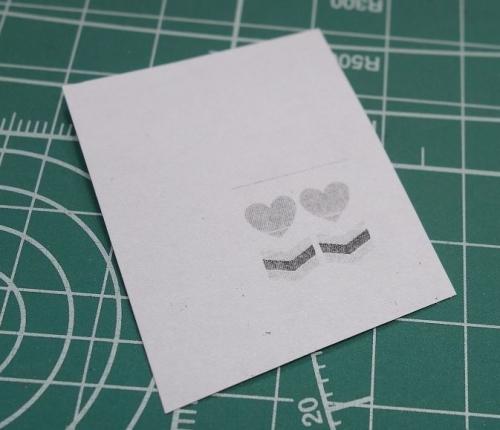デカールをコピーした型紙