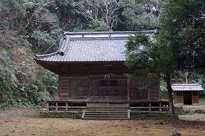 170222丸郷神社の神池⑦