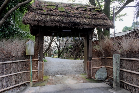 ⑫お茶屋屋敷跡
