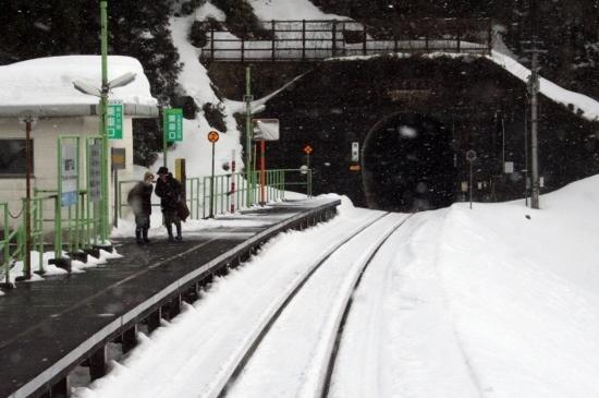 ⑨越前下山駅