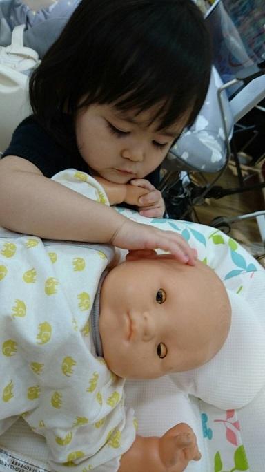 展示品の赤ちゃん2