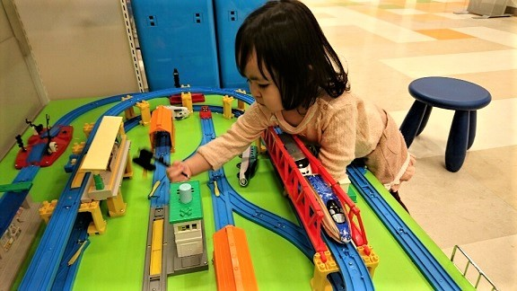 電車遊び②