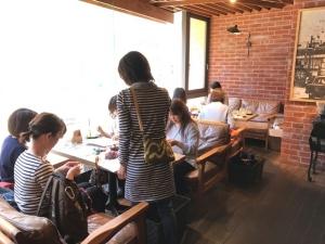 201704 Thecafe ニットカフェ