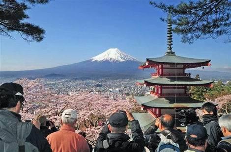 富士山+桜+五重塔=新倉山浅間公園(470x310)20170403