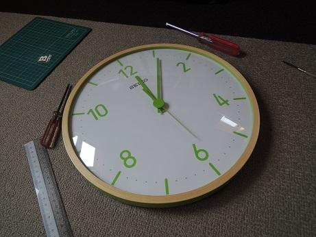 BESS ワンダーデバイス サンダーバード2号 壁時計 カスタマイズ 3