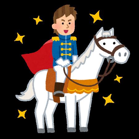 白馬、王子