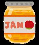 ジャム、リンゴ