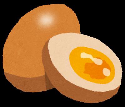 燻製、煮卵