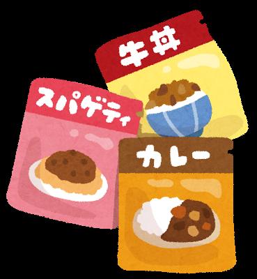 レトルト、食品
