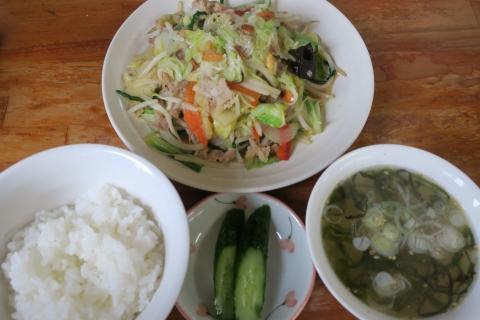 「スペシャル肉野菜炒め」②