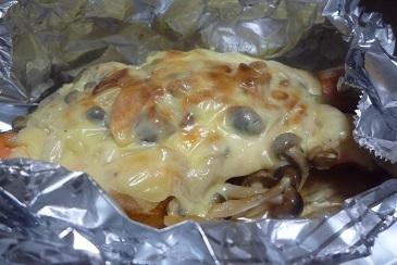 鮭きのこチーズ焼き