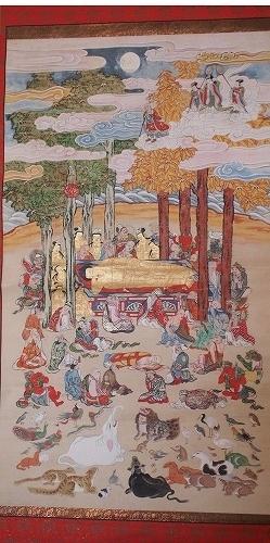 5001子供坐禅会 法話 涅槃図 阿修羅1