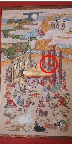 5001子供坐禅会 法話 涅槃図 阿修羅2