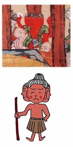 5001子供坐禅会 法話 涅槃図 阿修羅3