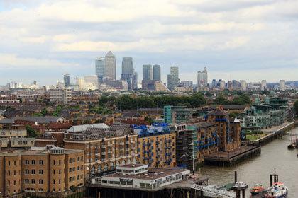 イギリス・ロンドンの街並み2017-4.6