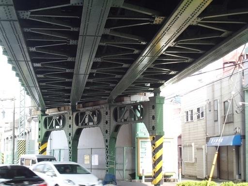 南太田駅付近の高架