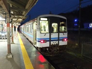 2下り一番列車0321