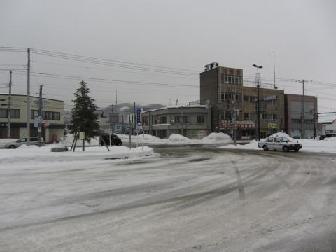 赤平駅駅前