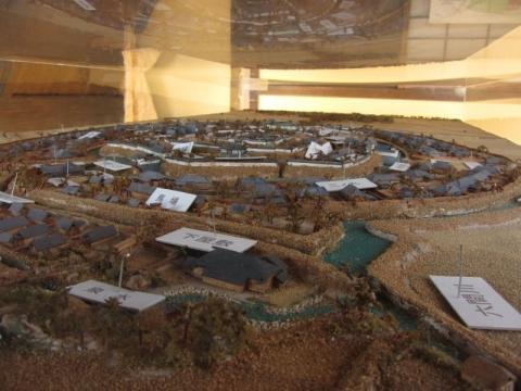 田中城下模型