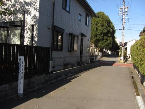新宿一之門三日月堀跡