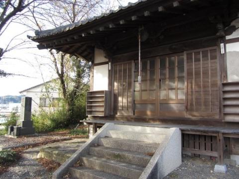全居寺の観音堂
