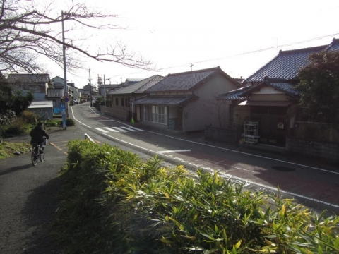 旧東海道 藤枝市鬼島