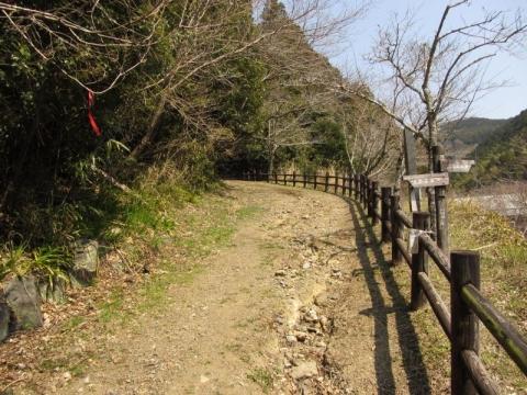 宇津ノ谷峠旧道 岡部側登り口