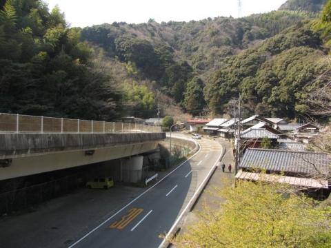 県道208号 静岡市駿河区宇津ノ谷