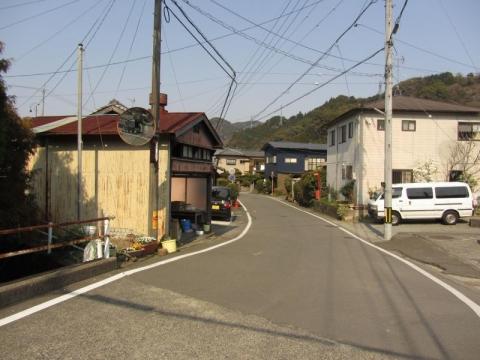 旧東海道 赤目ヶ谷