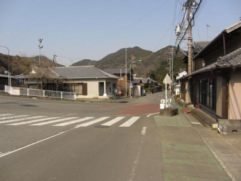 旧東海道 二軒屋
