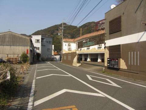 旧東海道 元宿