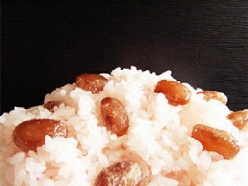 甘納豆の赤飯71