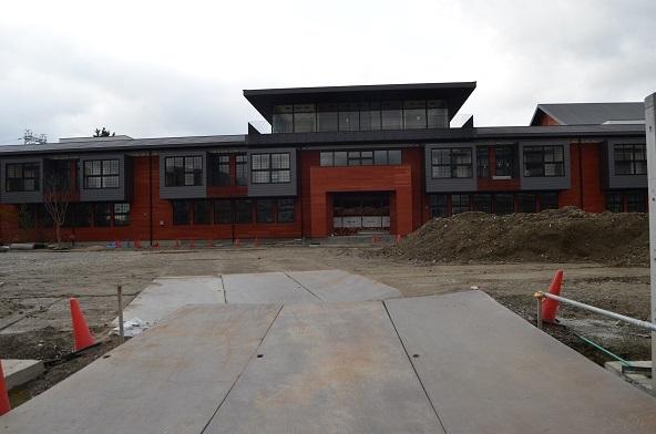 12 森友 小学校建設現場