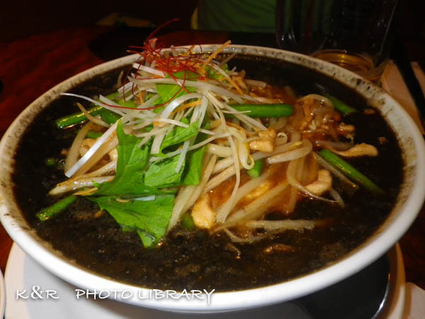 2016年4月28日健康黒胡麻担々麺1
