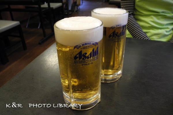 2016年4月29日生ビール1
