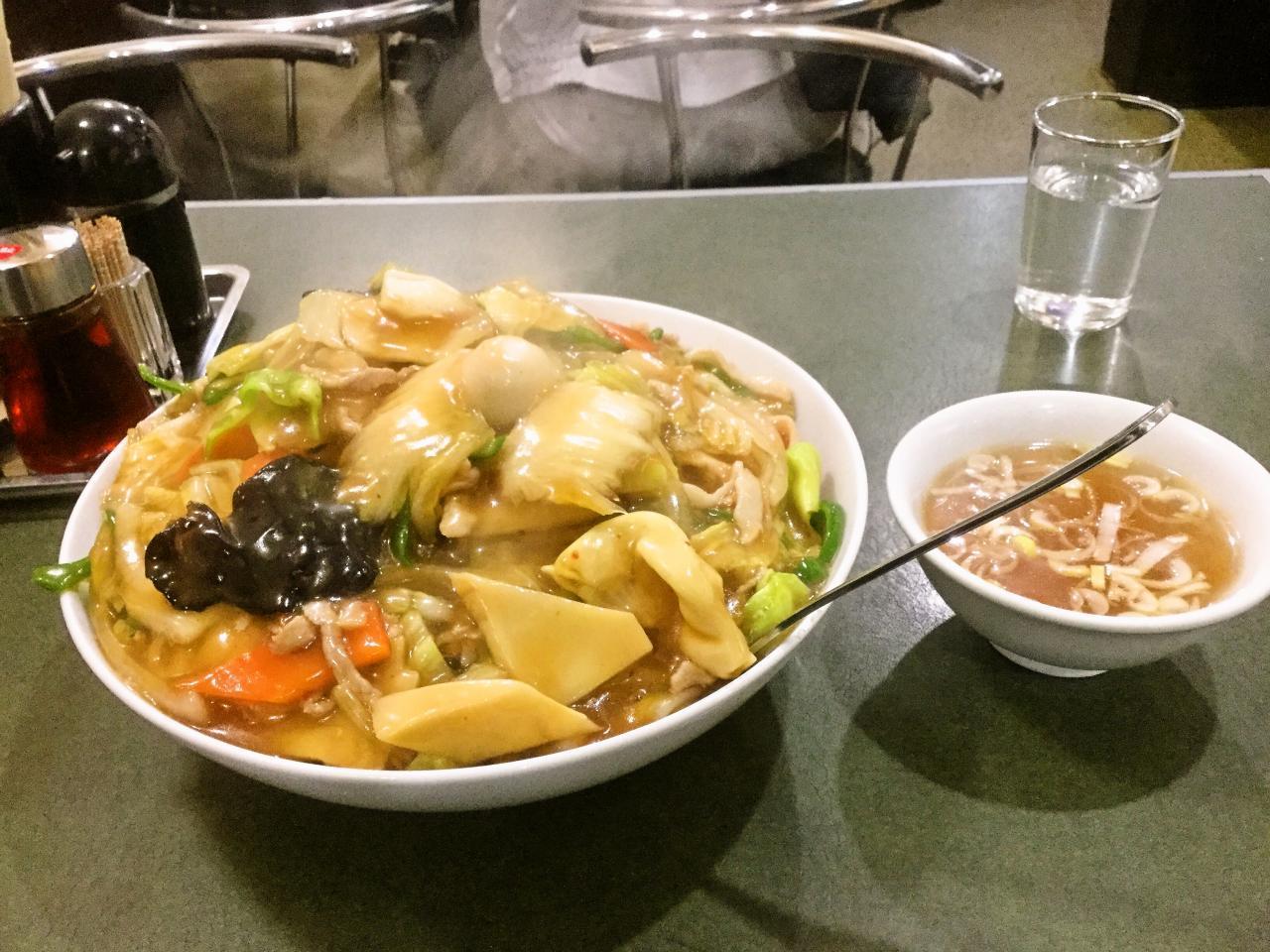 ぶん華(カタヤキ&中華丼セット)