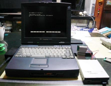 PC-9821Nr15/S10 + TRI-007 + NEC FD1231T