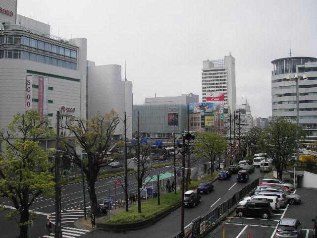 JR三ノ宮駅前201704