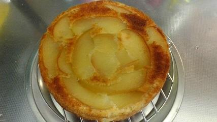 1リンゴケーキ3