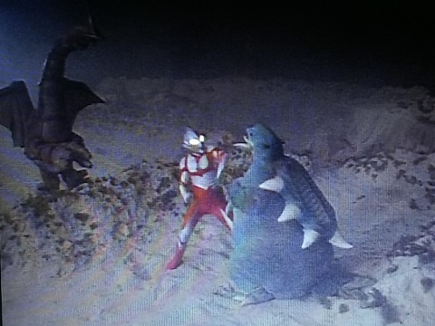 ウルトラマングレート vs シラリー & コダラー