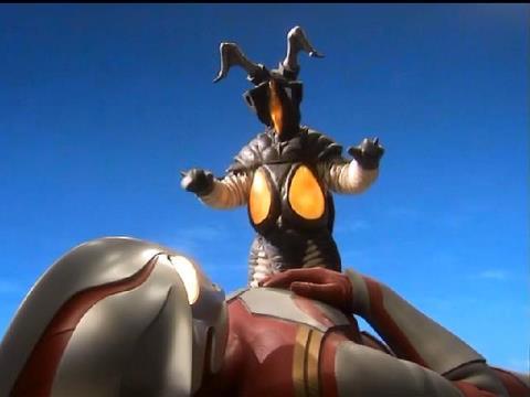 プロトマケット怪獣(の候補)のウルトラマンメビウスを倒すゼットン