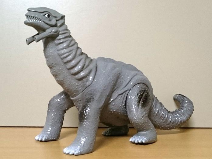 ウルトラマングレートソフビ ギガザウルス