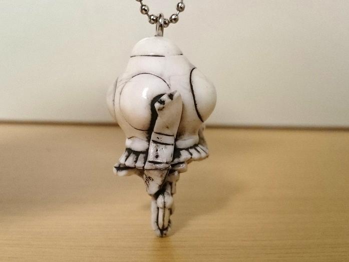 円盤生物 シルバーブルーメ ウルトラ墨絵スイング1