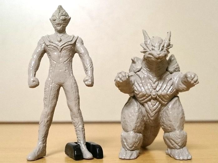 ウルトラマンティガ怪獣 ティガモンスター超全集 イーヴィルティガガーディー石像