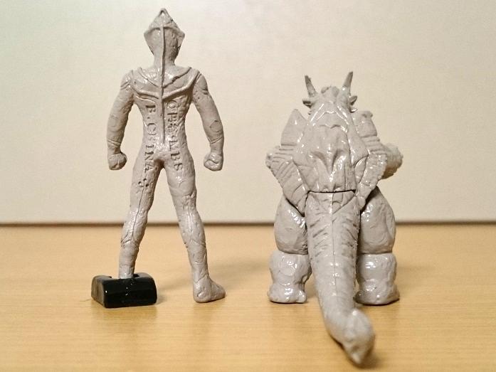 ウルトラマンティガ怪獣 ティガモンスター超全集 イーヴィルティガガーディー石像1