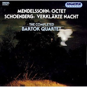 THE BARTOK QUALTET「MENDELSSOHN」