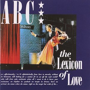 ABC「THE LEXICON OF LOVE」