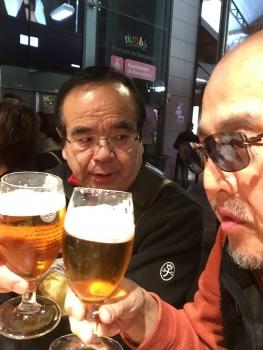 バルセロナ乾杯