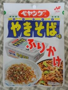 ぺヤングソースやきそば味ふりかけ (25g) 108円